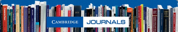 cambridge journals