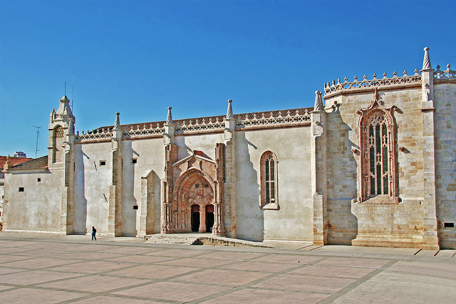 Manueline Style Monastery and Church of Jesus in Setúbal, PORTUGAL
